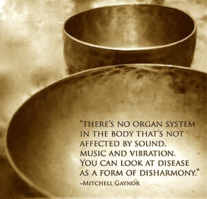 brass singing bowls can be used in sound healing