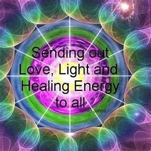 sending love, light and distance healing